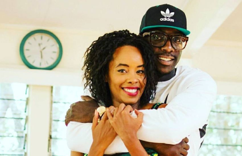 PHOTO: Bien and wife Chiki wow netizens with unique wedding bands