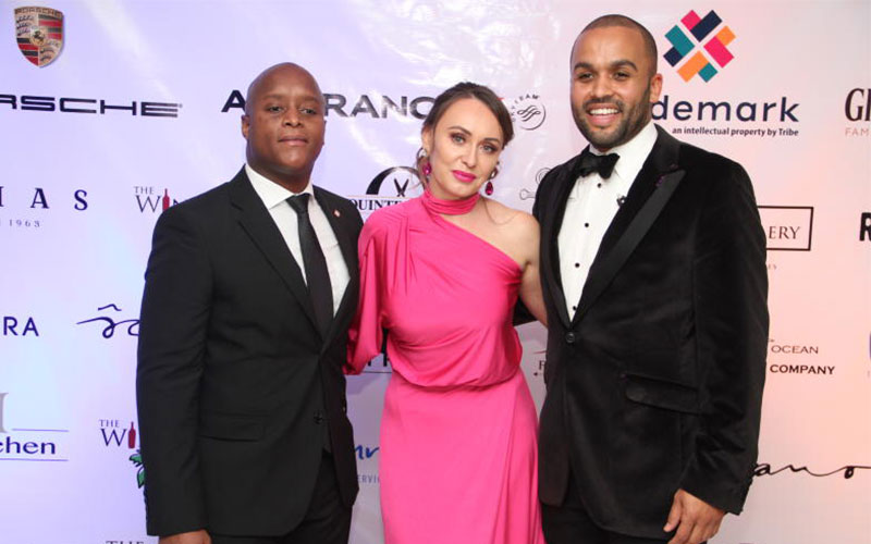 From (left) Mukii Kariuki Trade manager Glenfiddic