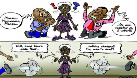 Blame massive voter apathy on politicians' unfulfilled promises