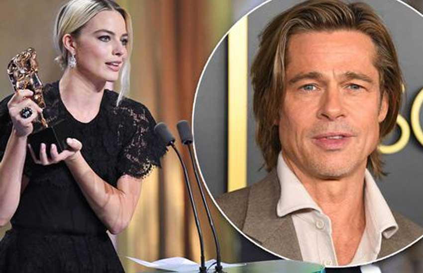 Brad Pitt makes joke about Prince Harry at BAFTAs in front of cringing William and Kate