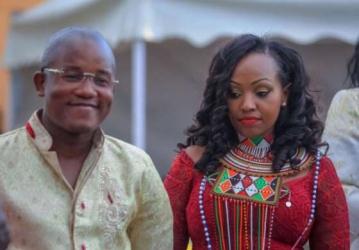 Businessman Jared Otieno and Kendi Mwiti finally wed