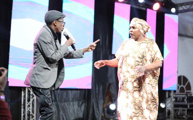 Black and White comedy show - KICC