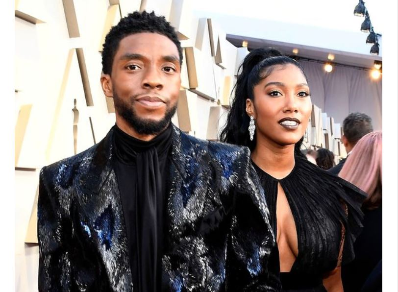 Chadwick Boseman's widow Simone accepts his Golden Globe award with emotional speech