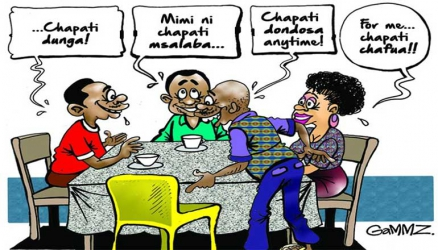 Chapati Movement: Proof we're eating ourselves into a new social identity?