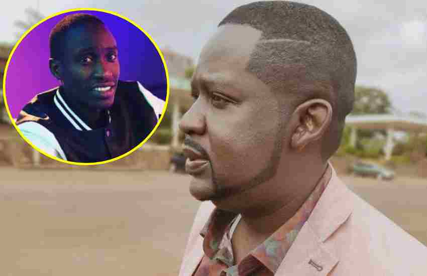 Churchill condoles with comedian Njoro following his father's passing