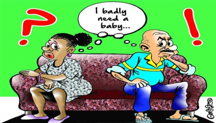 Deep shame, guilt, emasculation and anger caused by infertility in men