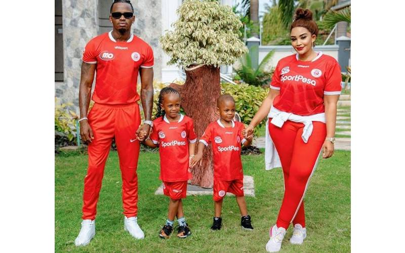 Diamond Platnumz hits the studio with daughter for upcoming song