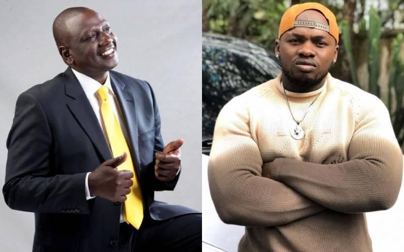 DP Ruto responds to Khaligraph Jones following his plight