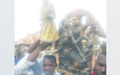 Drama as fishermen catch 'goddesses' in Lake Victoria