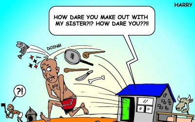 Drama as Narok wife busts hubby engaged in act of the rod with her younger sister
