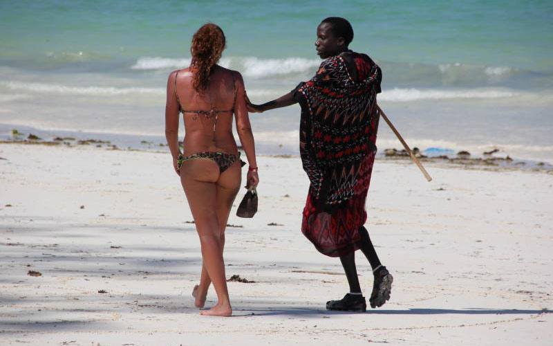 Female tourists who travel to Kenya to get laid by local men