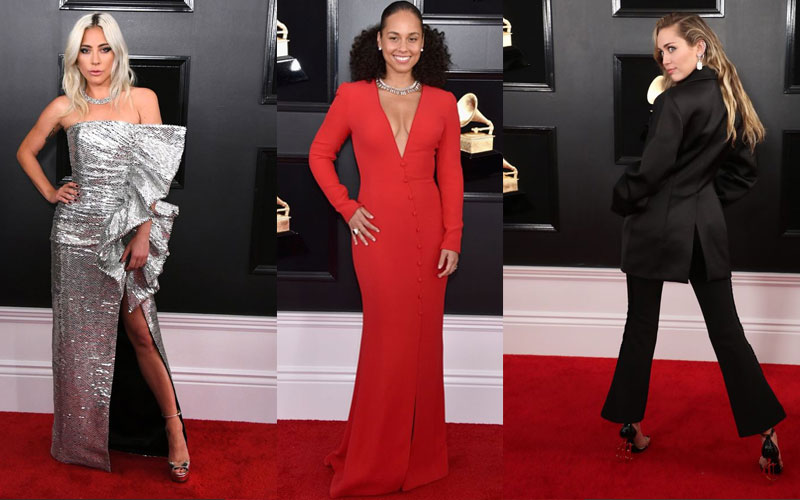 2019 Grammy Awards red carpet