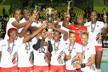 Shame as volleyball queens catch 'matatus' home after continental win