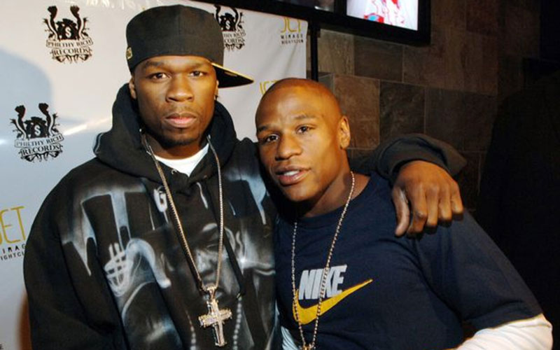 Floyd Mayweather flaunts shoe closet after 50 Cent claimed he is broke