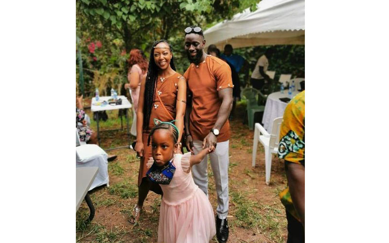 Former Mr Kenya Cula Budi marries long-term girlfriend