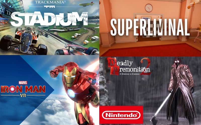 Four video games you should check out