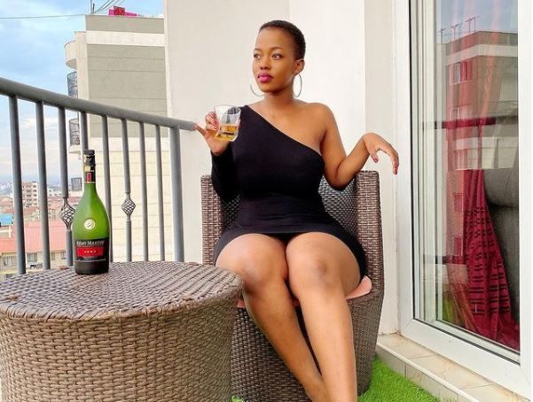 Furious Corazon Kwamboka claps back at body shamers
