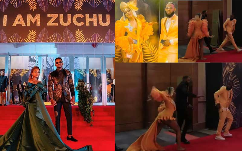 Singer speaks after attacking lover at WCB signee Zuchu's star-studded concert