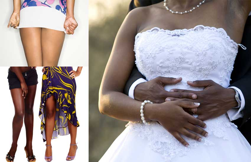 Girls, no skimpy dresses at weddings, are we together?