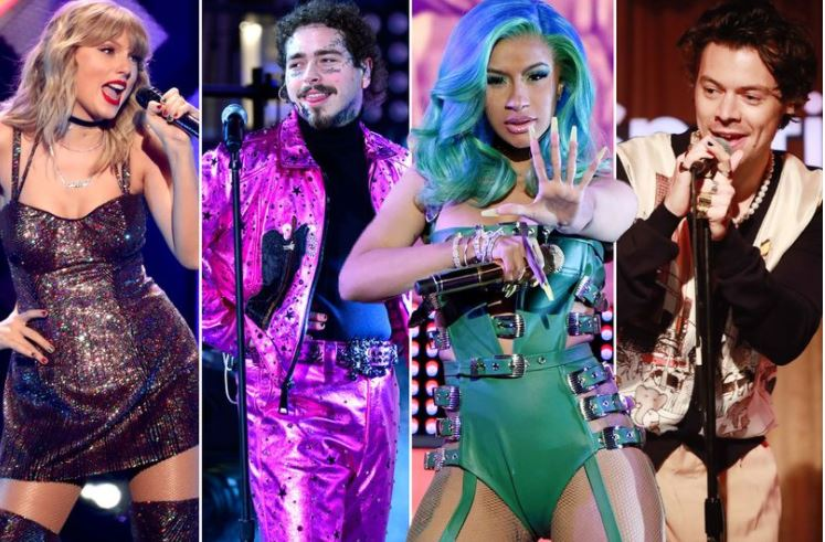 Grammy Awards 2021 performers unveiled - from Harry Styles to Taylor Swift and Cardi B