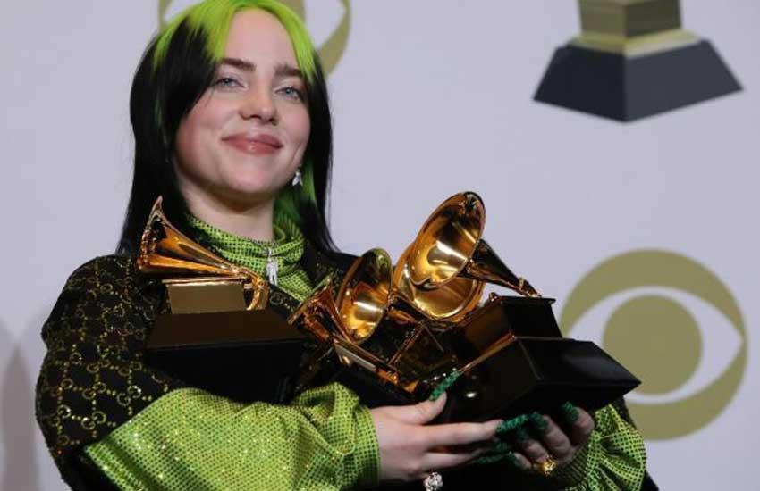 Full list of Grammy Awards winners as Billie Eilish scoops five gongs