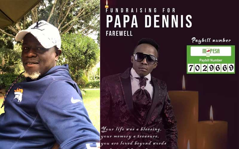 Help us bury Papa Dennis- Gospel singer Ole Willy's plea to Kenyans