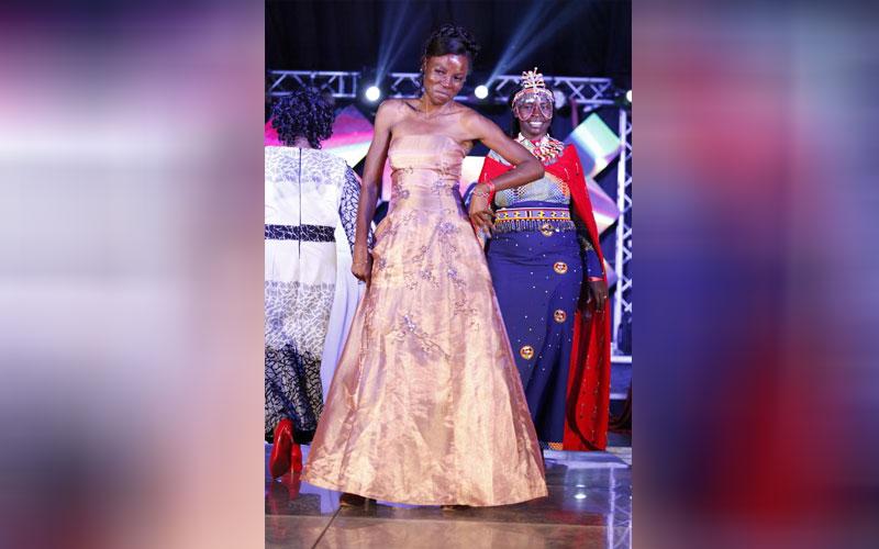 Caroline Wangamati at Miss Tourism Kenya 2018