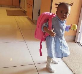 How time flies: Diamond and Zari's baby Tiffah is already attending school