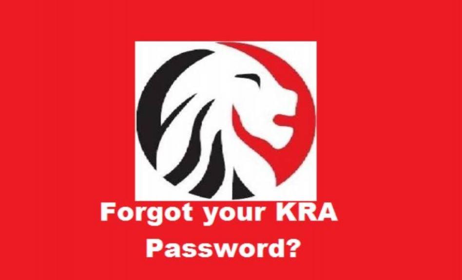 How to reset your KRA iTax password
