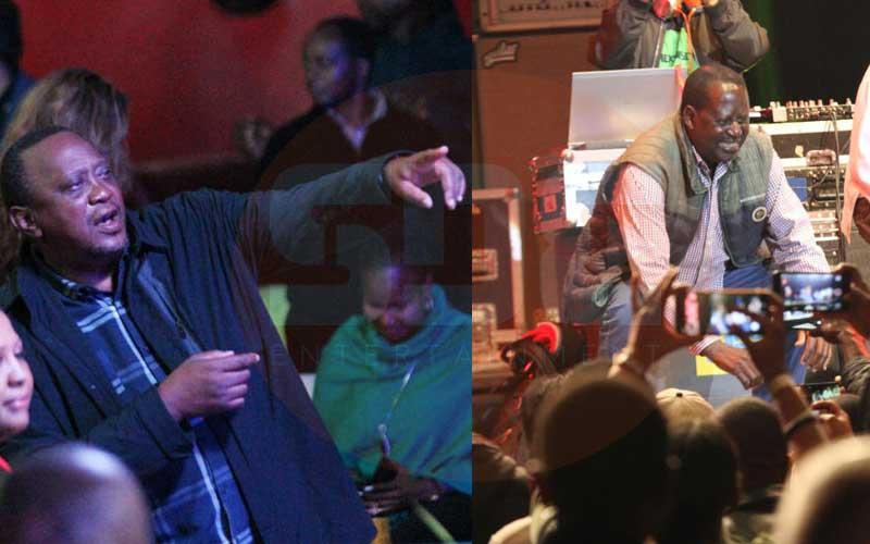 PHOTOS: How Ngina Kenyatta joined dad, Raila in dancing the night away at UB40 concert