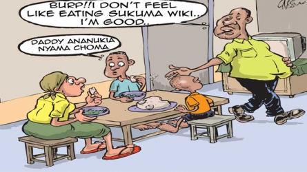 Hubbies who take home crumbs after feasting in bars