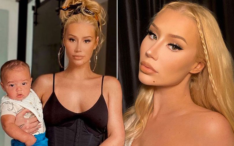 Iggy Azalea shares first look at son Onyx after break-up with Playboi Carti