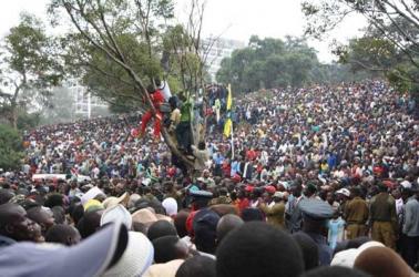 In Kenya, politics is life