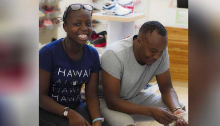 Jaguar takes the late Poxi Presha's daughter for shopping as she joins high school