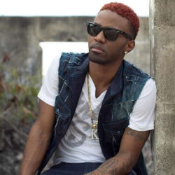 Jamaican singer Konshens sneaks in and out of Nairobi