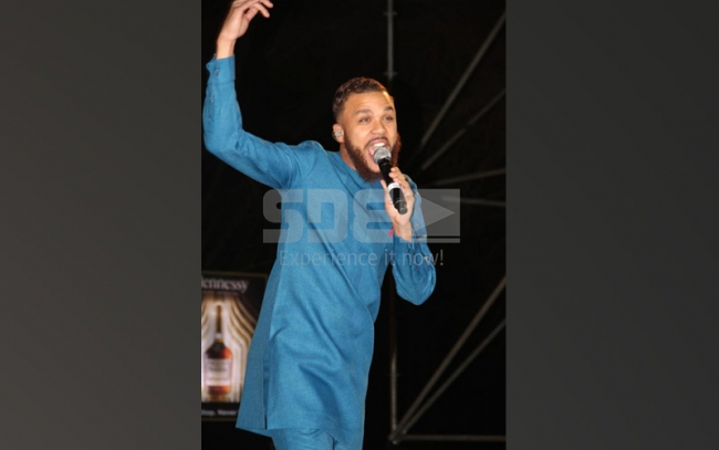 Jidenna's perfomance during Fomo party at Carnivore grounds