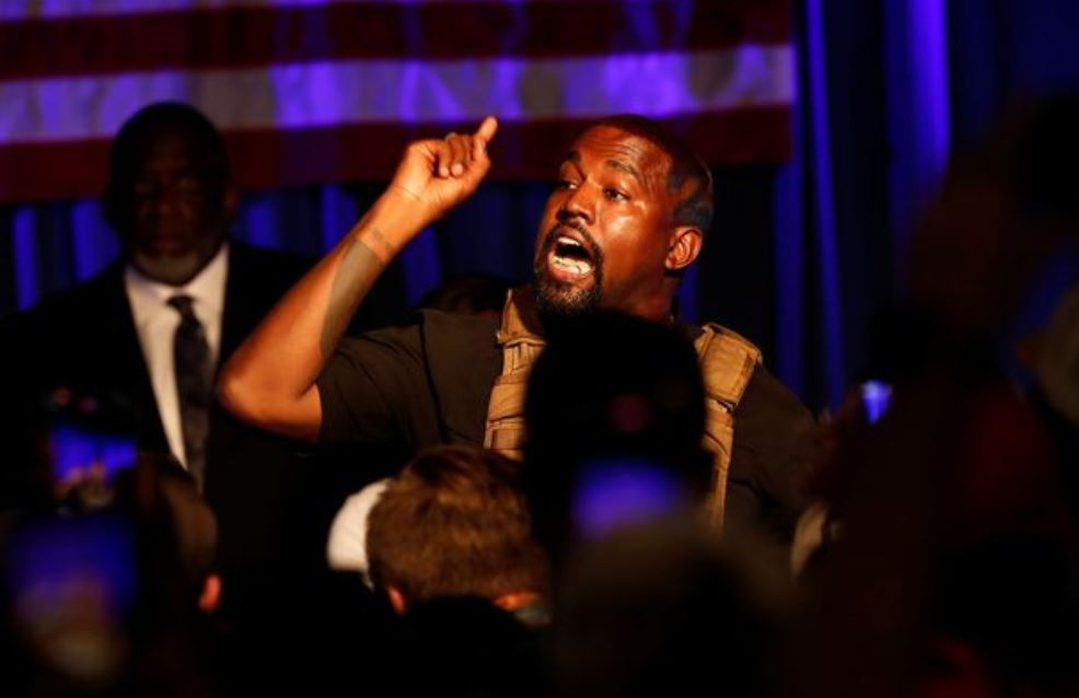 Kanye West says it is his 'calling' to be US president and 'part of God's plan'