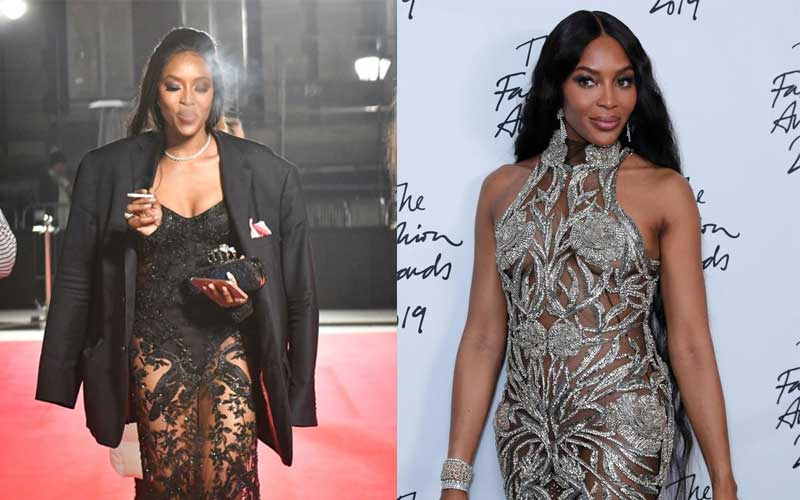 Kenya tourism ambassador Naomi Campbell shares her top tip for quitting smoking