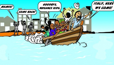 Kenyan parents fleeing their kids over long school holidays rescued from capsized boat