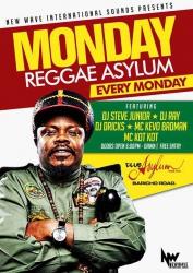Kick away the Monday blues with Reggae Monday at Club Asylum