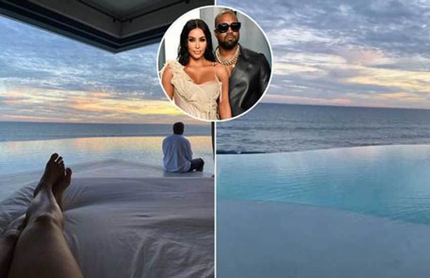 Kim Kardashian treated to 'little slice of heaven' Valentine's Day break by Kanye West