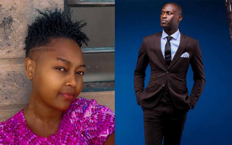 King Kaka smitten by Nana Owiti's new look