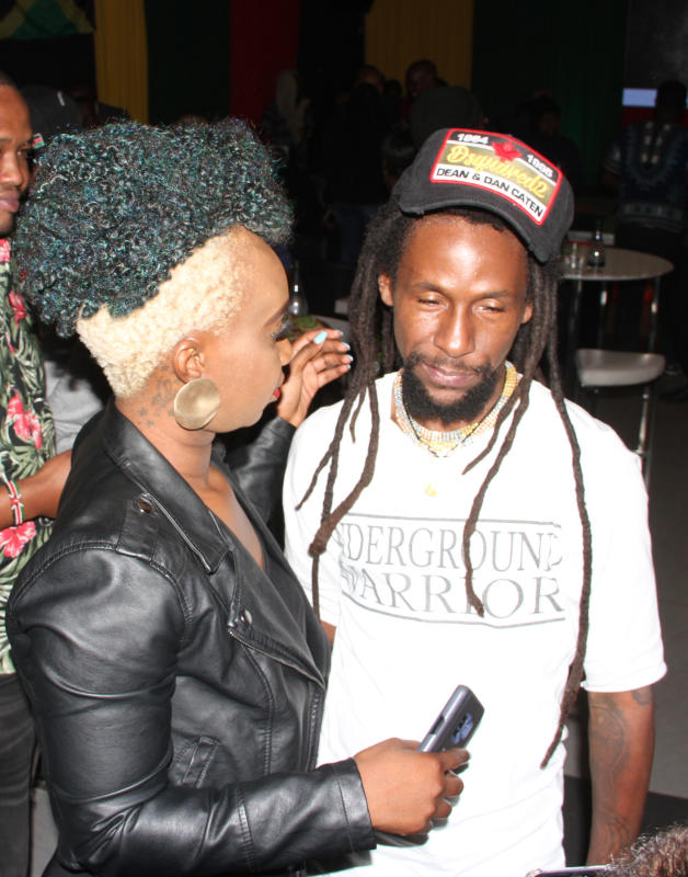 Jah Cure 'Royal Soldiers' album launch at Kiza Lo