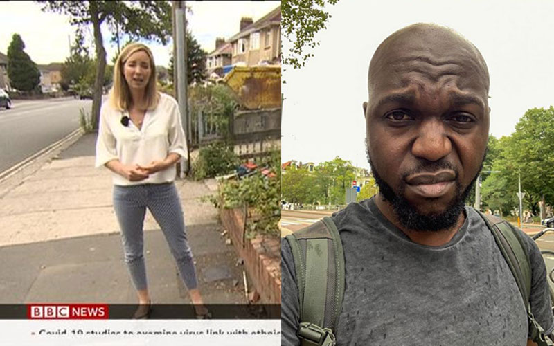 Larry Madowo speaks after BBC's use of racist slur in broadcast