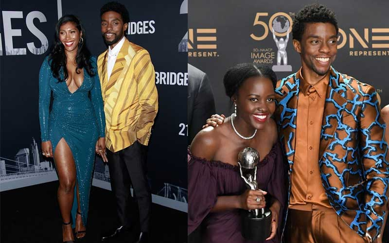Lupita, Black Panther stars join Chadwick Boseman's wife and family at private memorial