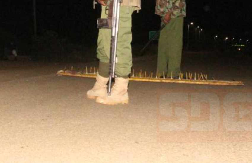 Man claims police officers enforcing curfew are extorting residents