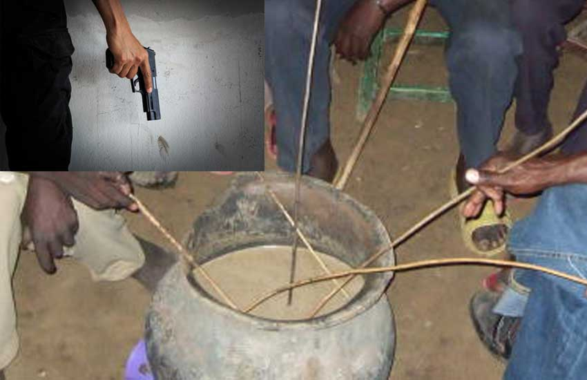 Man in court for forcing two neighbours to gulp jug of 'busaa' at gun point