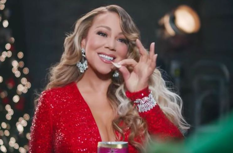 Mariah Carey's Christmas song finally gets number one spot 28 years after release