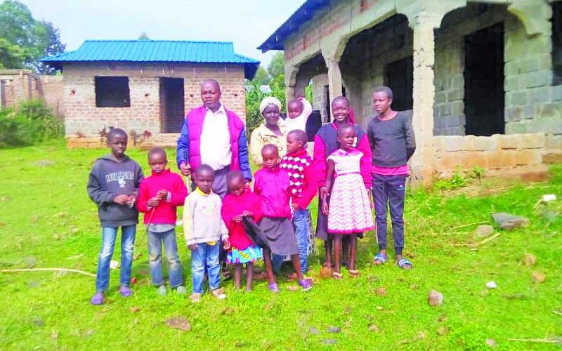 Meet blind teacher with 11 children and yearning for more