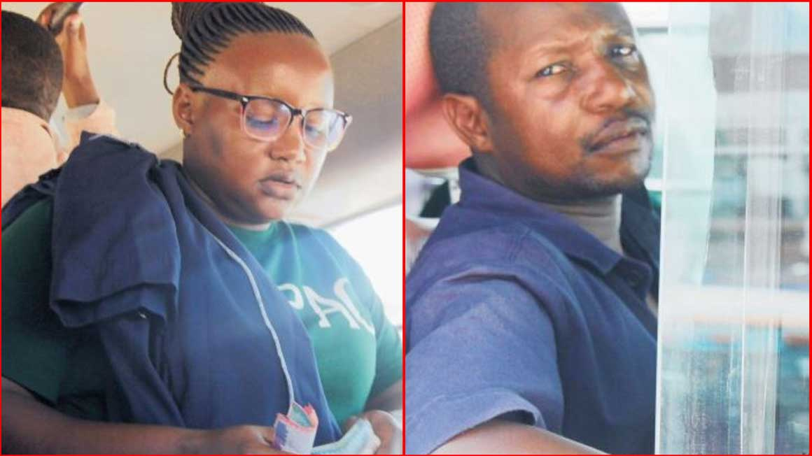 Meet couple working in the same matatu as driver and conductor